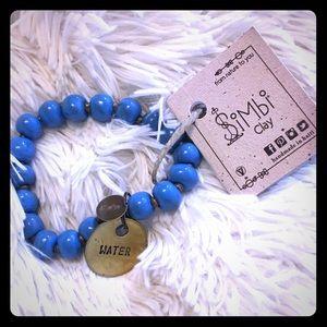 Simbi clay water bracelet. NWT